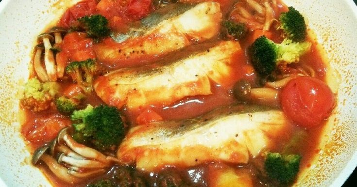 *簡単豪華!タラのトマトパッツァ* by CooKまるのすけ [クックパッド] 簡単おいしいみんなのレシピが262万品