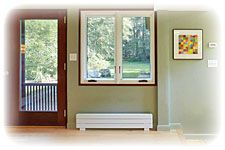 Electric Baseboards Online - Runtal Radiators - electric baseboard heaters that look a little nicer than what I have