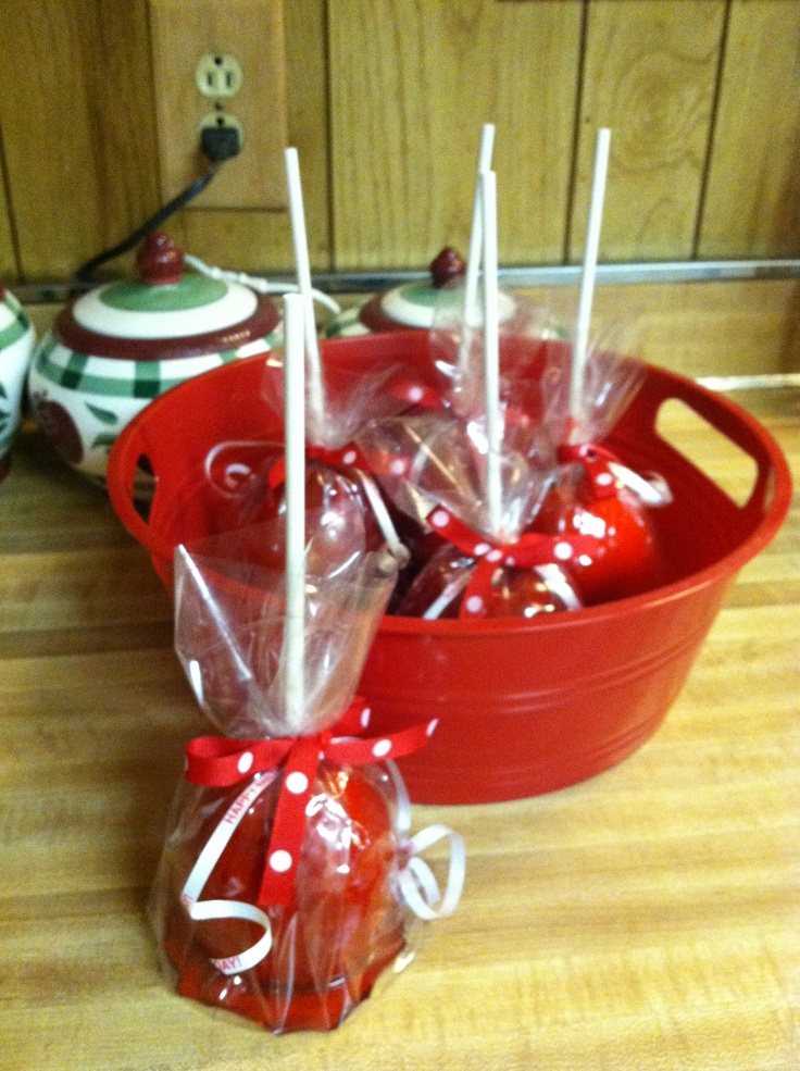 Candy apple basket will make one for you if you like
