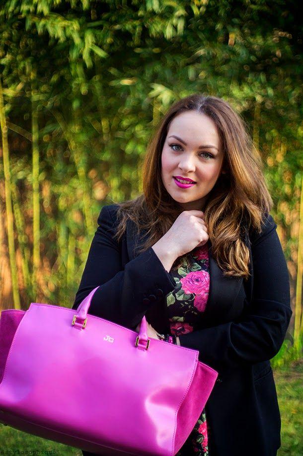 Un vestito a fiori e la mia nuova J&C JackyCeline ~ Iris Tinunin - Fashion & Beauty Blogger more on www.stylosophique.com