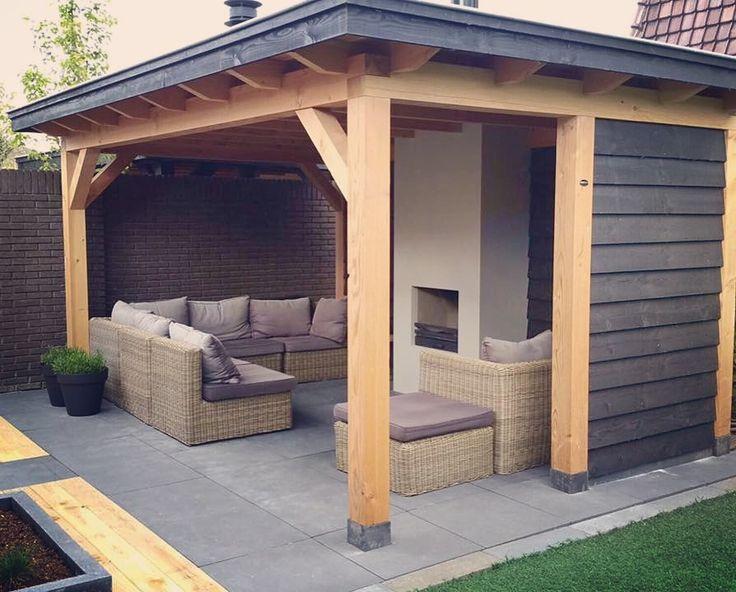 25 best images about veranda berging overkapping carport houten bijgebouwen on - Prieel buiten ...