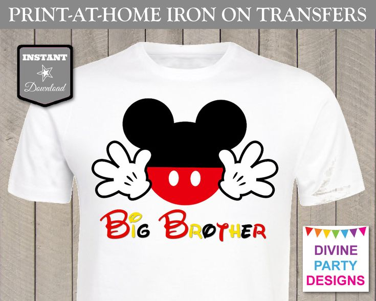 1000 images about mickey mouse birthday party ideas on for Instant t shirt printing