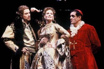 The Duchess of Malfi. The Shakespeare Theatre, DC. 2002.    Incredible performers (including Kelly McGillis) flesh out this shocking, disturbing Jacobean tragedy. Such a cool production!