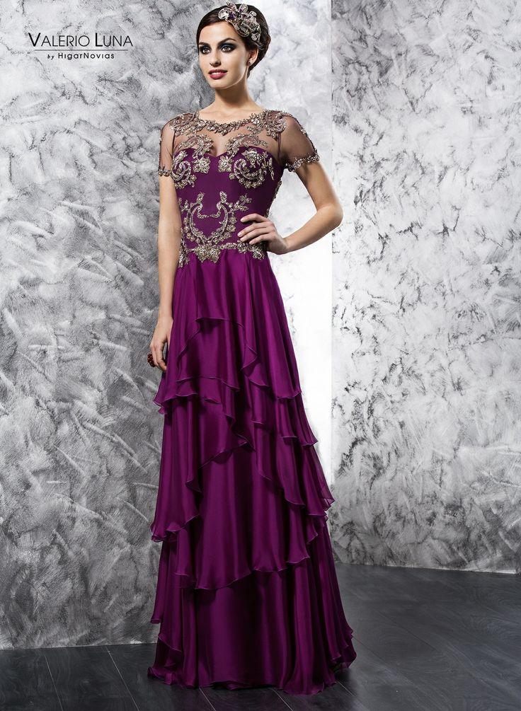 vestidos de fiesta 2014 con pedreria