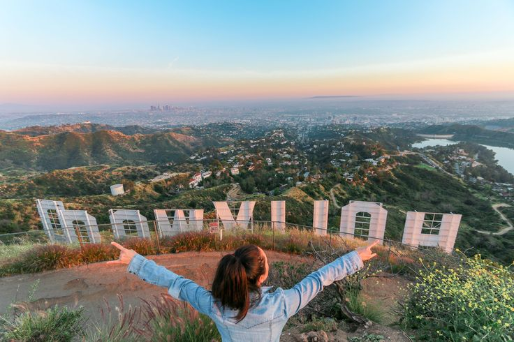A Los Angeles - based travel blogger's guide to getting to the Hollywood sign hike. Step-by-step direction from the start of the Hollywood sign hiking trail.  While staying in Burbank, California -- a fifteen minute drive to the Hollywood Sign,