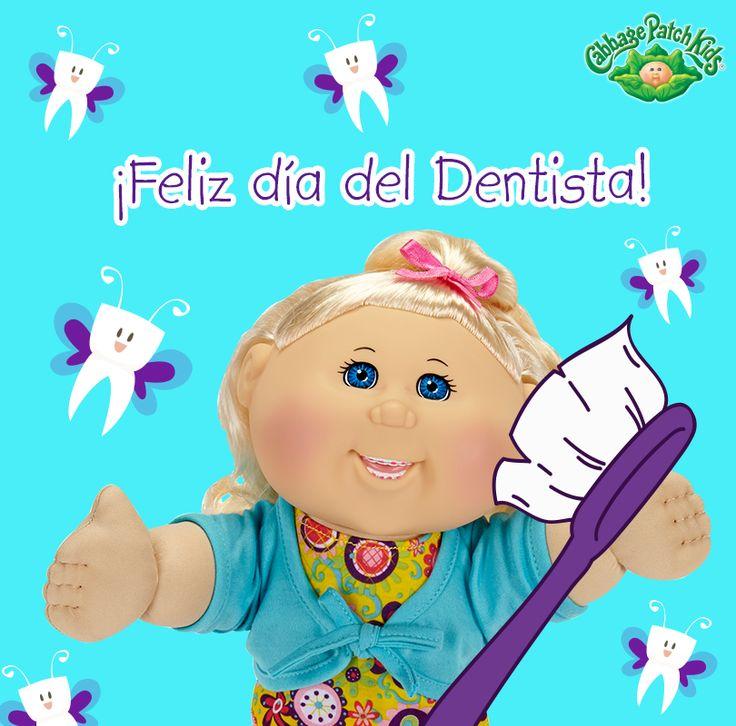 ¡Feliz día del dentista! #cabbagepatch #cabbagepatchkids #sketchers #muñeca #niñas #abrazo #palaciodehierro #liverpool #comercialmexicana #walmart #soriana #sears #chedraui #coppel #juguetron #HEB #kids #dentista