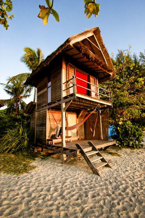 beach cabin, oh fun!