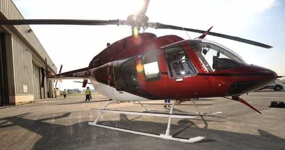 The Bell 407. I decided to splash out on a new helicopter today, a Bell 407. It just makes more economical sense than renting per hour. It will certainly come in handy on small journeys. I pick it up next week, stay tuned. Paul!