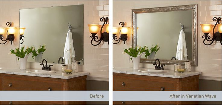 bathroom mirror trim kit 128 best bathroom accessories images on 16253