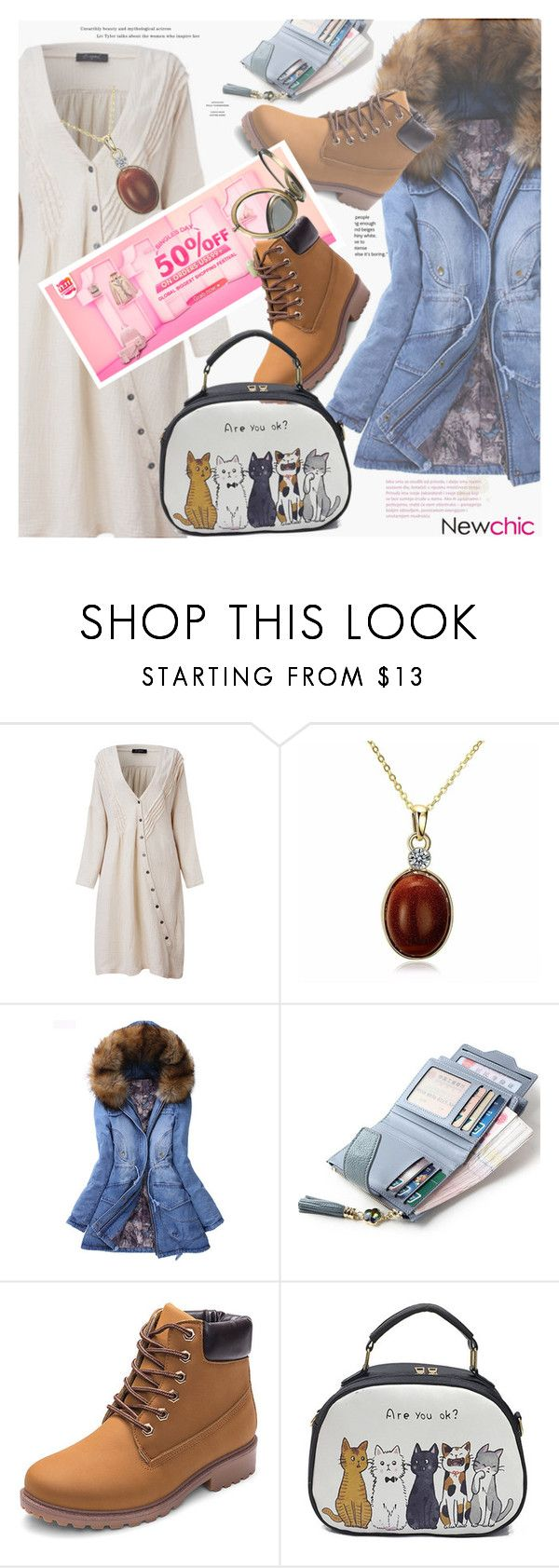 """""""11.11 Global Shopping Festival -- Newchic"""" by sanseiveria ❤ liked on Polyvore featuring O-Newe, Christmas, thanksgiving, giftidea, newchic and plus size dresses"""