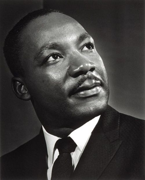 Martin Luther King by Yousuf Karsh (December 23, 1908 – July 13, 2002)
