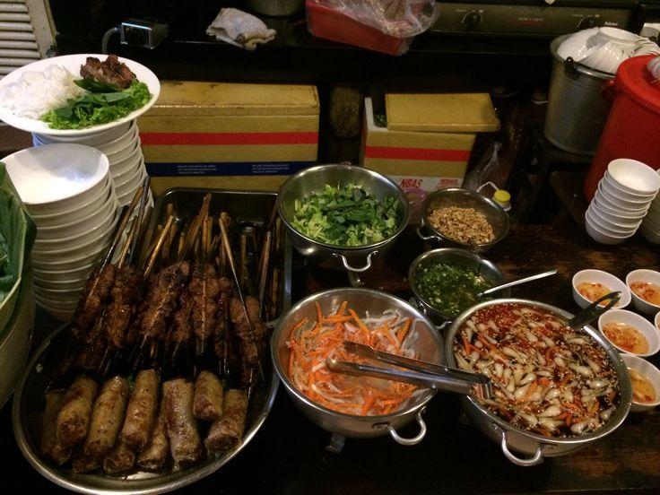 Vietnamese cuisine - Bun thit nuong!