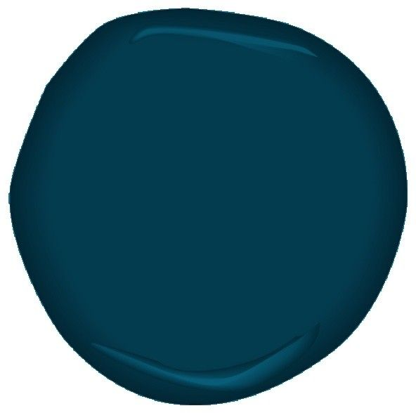 Potential color for master bedroom re-do...Hidden Sapphire Paint - contemporary - paints stains and glazes - Benjamin Moore