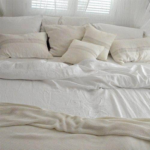 Bettwäsche Luuna   Weiß