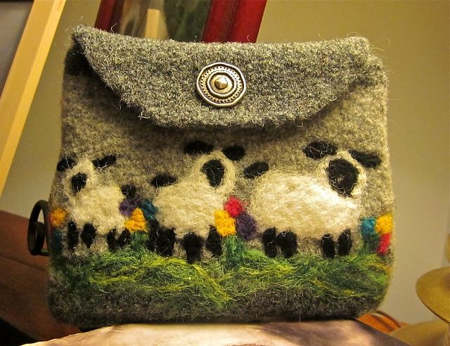 Needle Felted Wool Projects | Ravelry: Agilejacks Needle Felted Projects | Felted Wool