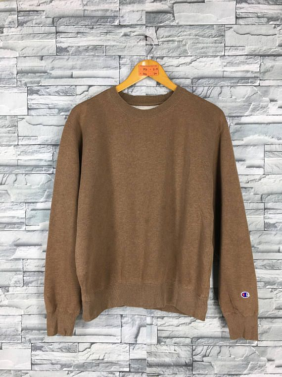 Vintage CHAMPION Jumper Sweatshirts Medium 80\u0027s Champion Usa
