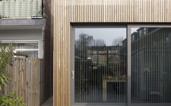exterior facade extension
