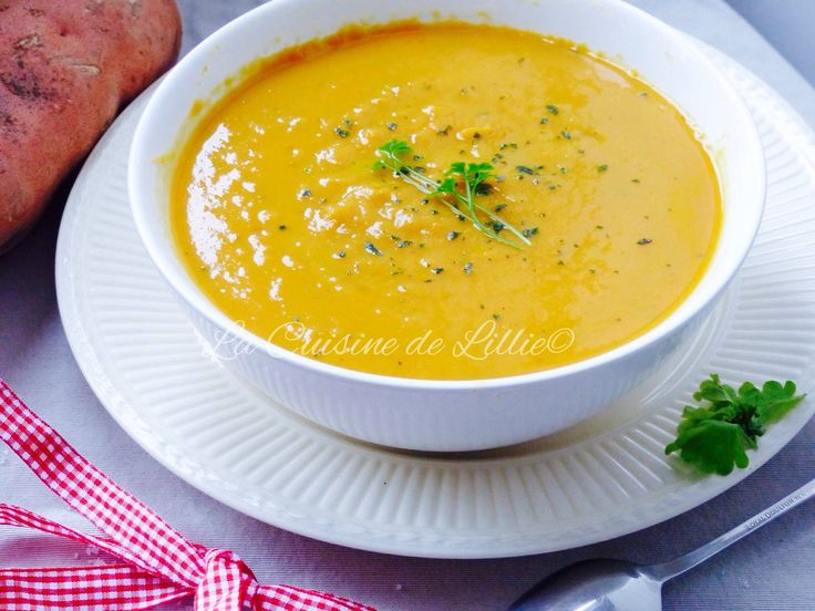 Soupe de Patates douces 3