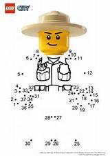 Coloriage Lego City Ranger