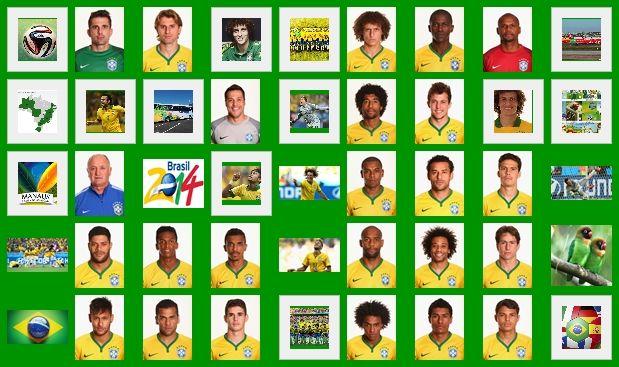 Brasil football team at worldcup 2014.