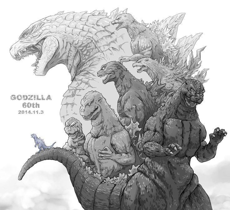 Godzilla's gone through changes over the years. His latest design is my favorite yet.