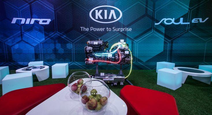 «Фалькон-Авто» продемонстрировал «зеленые» автомобили Kia на выставке Plug-In Ukraine