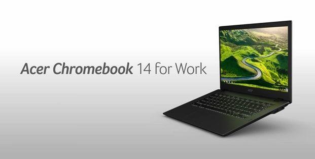 Acer Chromebook 14 for Work, un laptop cu Chrome OS dedicat mediului business