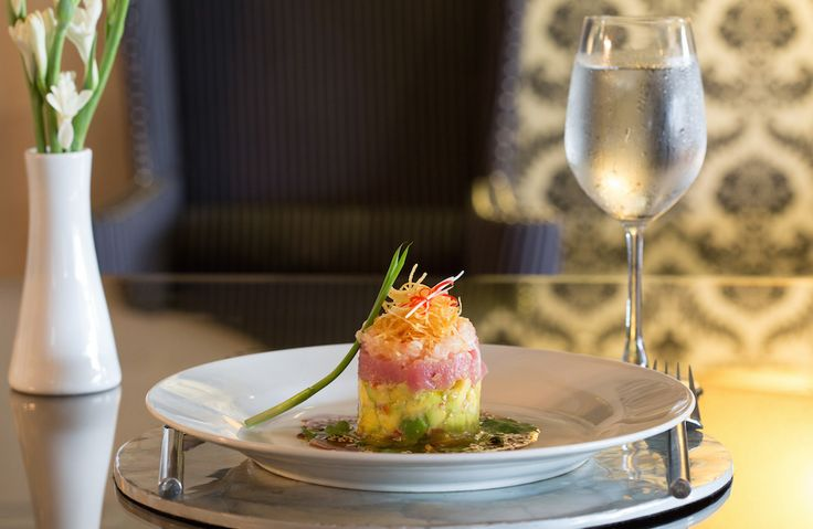 An entrée favourite on our menu - refreshing, healthy and delicious Avocado Tuna Tartare.