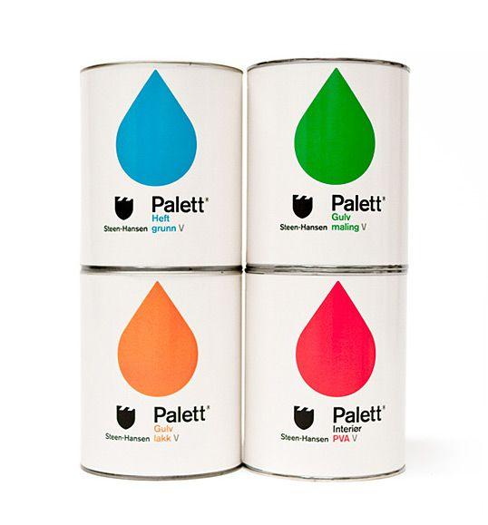 Steen-Hansen paint tins