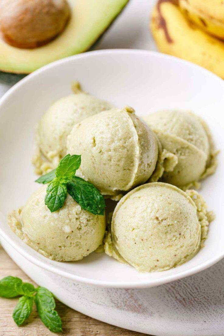 Easy avocado ice cream recipe no eggs dairy or added