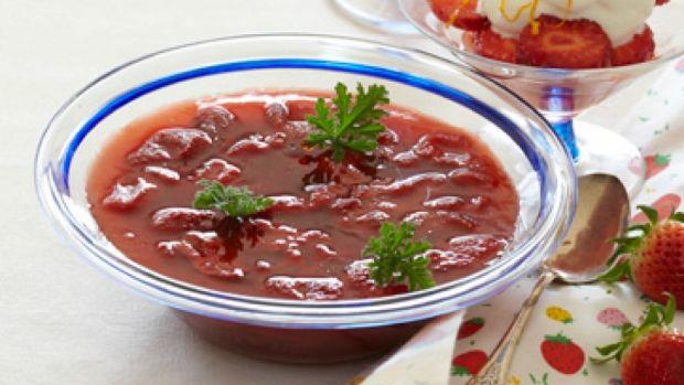 Jordbærgrød - lækker opskrift