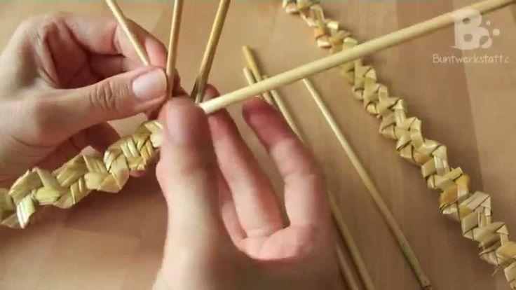 Straw / Wheat Weaving - Rustic Plait