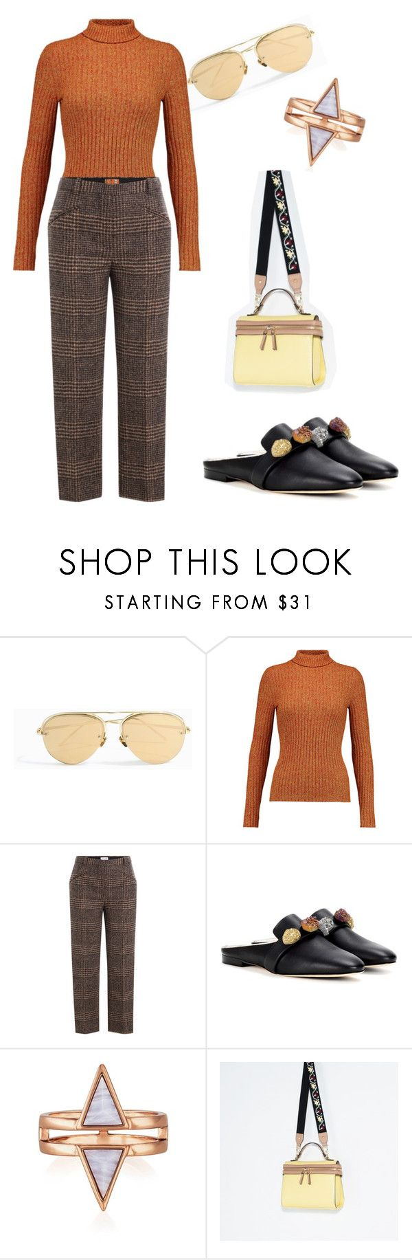 """""""Untitled #24"""" by d-ice on Polyvore featuring Linda Farrow, Just Cavalli, Sonia Rykiel and Christopher Kane"""