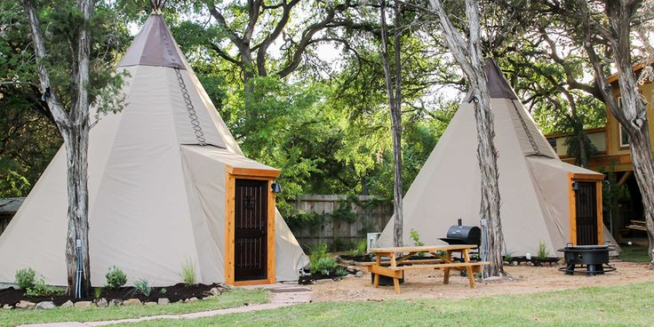 Reservation on the Guadalupe - Texas Hill Country. Stay in Tipis on the Guadalupe River.