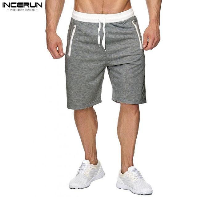 2017 New Summer New Brand Beach Shorts Men High Quality Bodybuilding Joggers Lei…