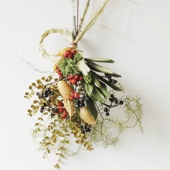 お正月飾り New year flower wreaths