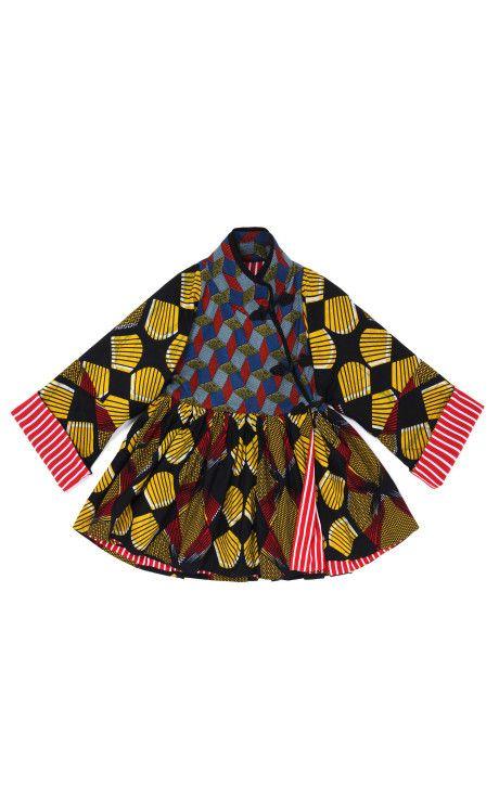 Onaedo Wax Jacket by Stella Jean