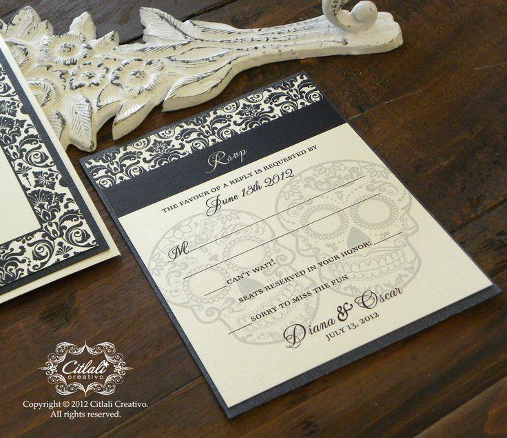 89 best day of the dead / dia de los muertos invitations ...
