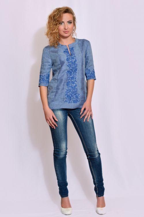 Жіноча вишиванка блуза