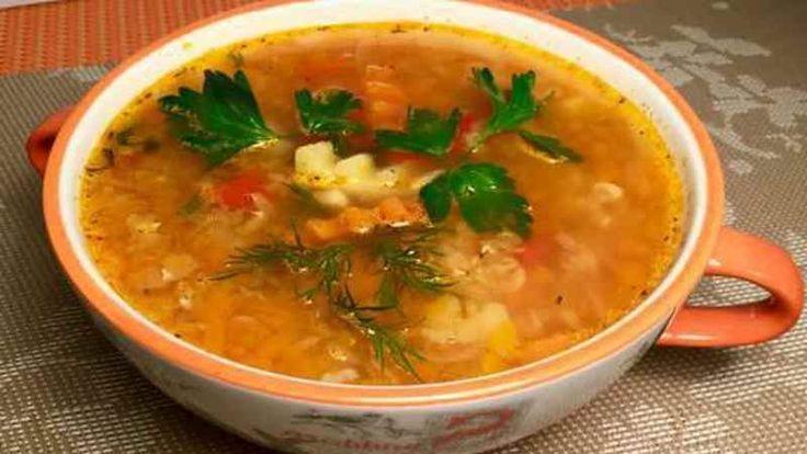 Суп с мускатной тыквой
