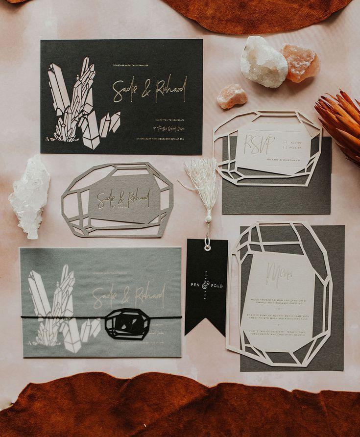 27 Unique Wedding Invitation Ideas | Unique wedding invitations ...