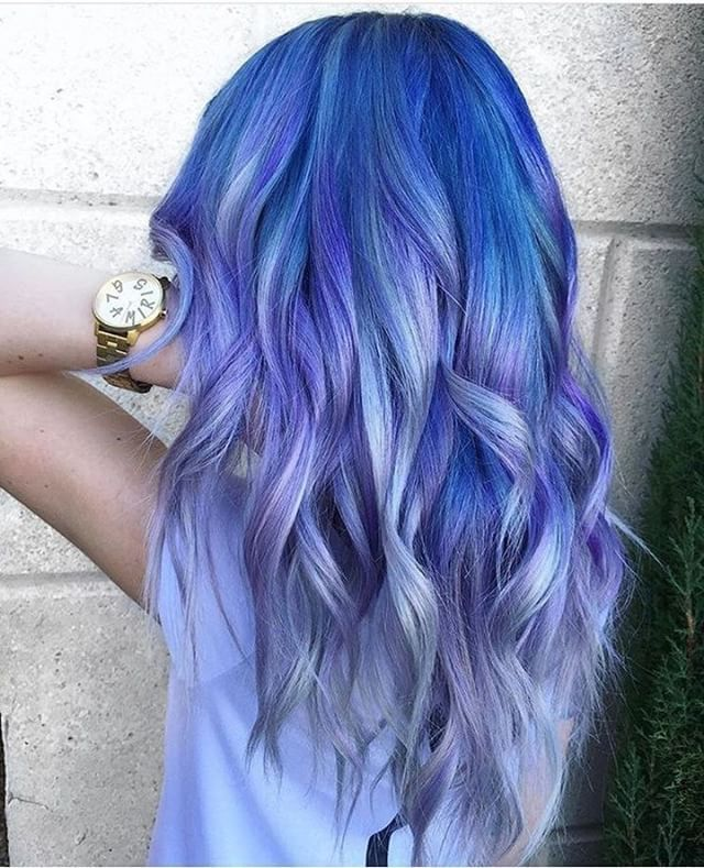 "4,673 Likes, 20 Comments - Hair Extensions Color Inspo (@vpfashion) on Instagram: ""{#VPInspiration} Amazing galaxy hairstyle from artist @glamiris """