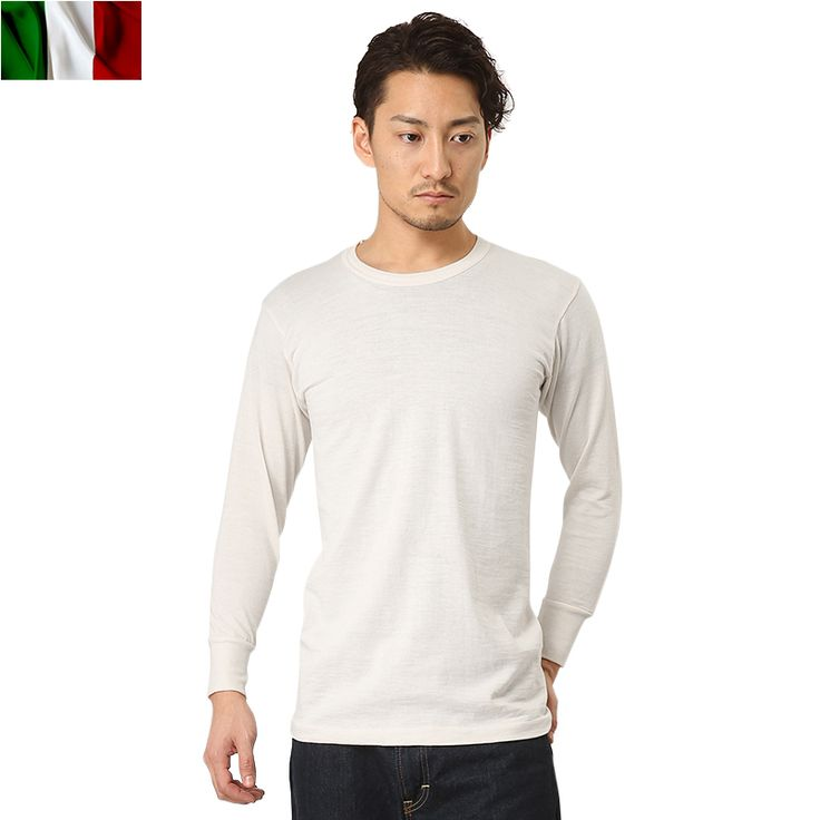 http://item.rakuten.co.jp/auc-waiper/slt052506101/ 実物 新品 イタリア軍 アンダーシャツ ナチュラル #ミリタリーセレクトショップWIP #men's #メンズ #MILITARY #T-SHIRT #Tシャツ #長袖 #longsleev #実物放出品 #ミリタリーサープラス #MILITARYSURPLUS