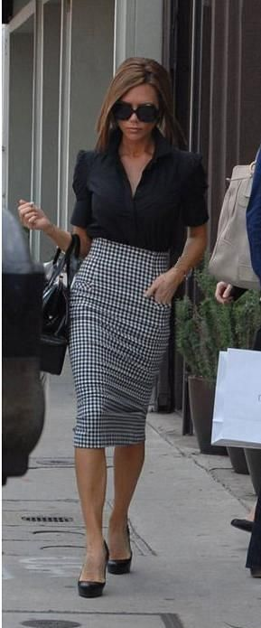 Victoria Beckham- Normally I am not a fan of that fabric, but VB can make…