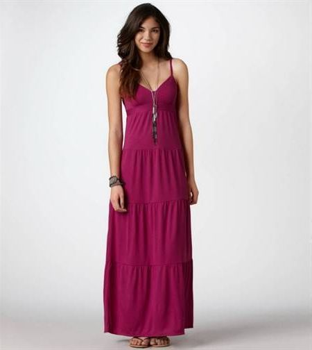 Awesome Tiered maxi dresses 2018-2019