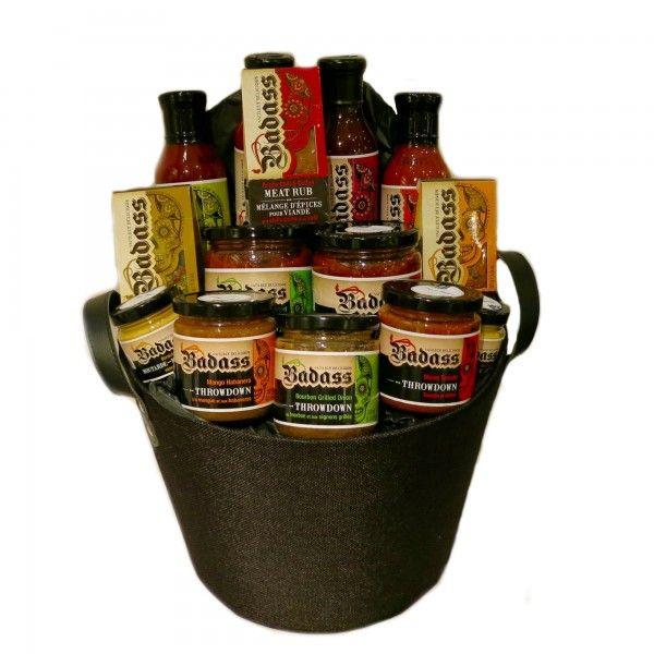 Total Badass BBQ Gift Basket