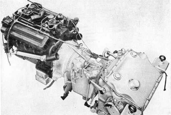 M26 pershing engine and transmission