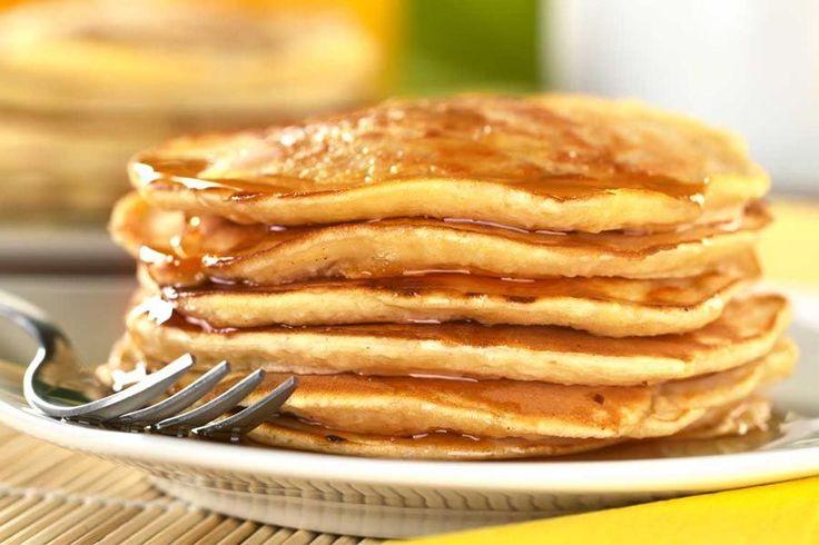 Recette de pancakes au Thermomix TM31 ou TM5. Réalisez ce dessert en mode étape par étape comme sur votre appareil !