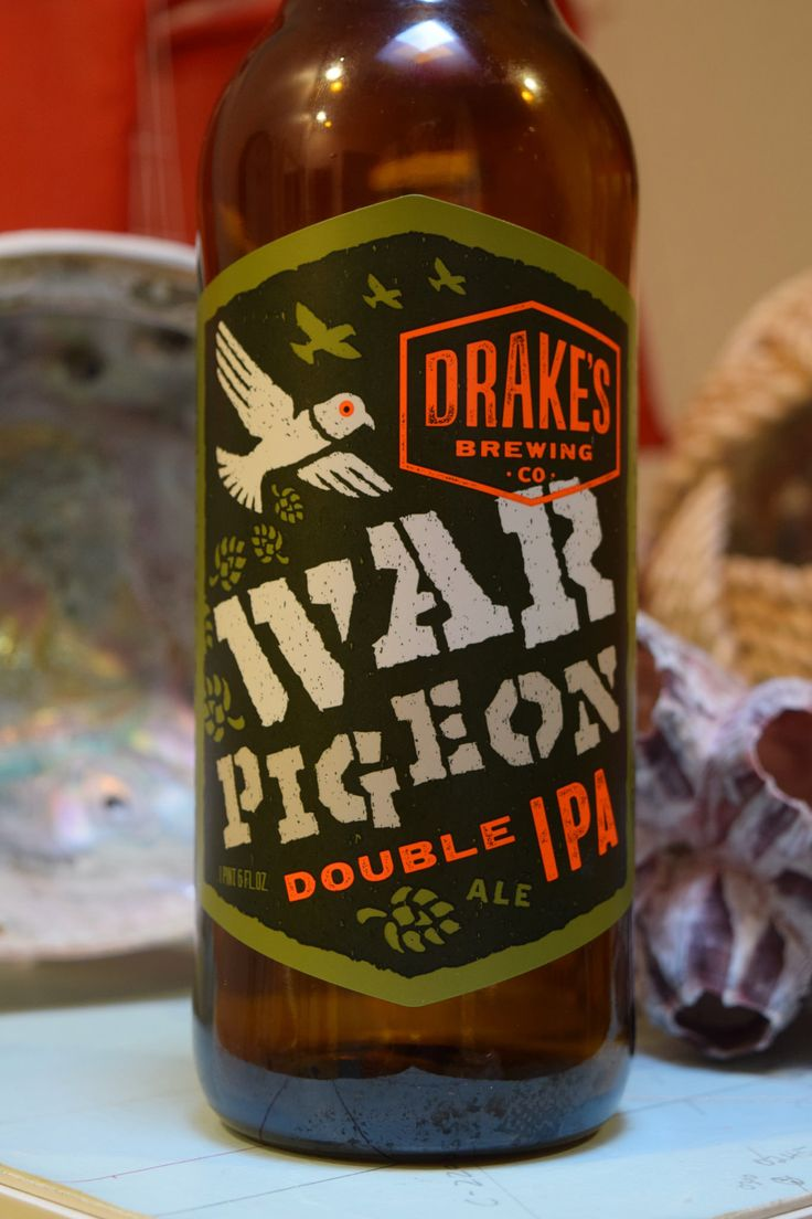 https://flic.kr/p/GUw44x | Drake Brewing Co. War Pigeon Double IPA