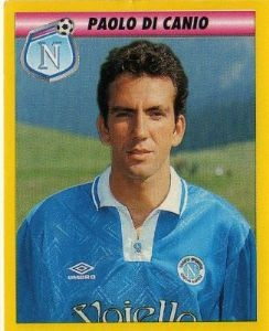 Napoli sticker. Very young Paolo